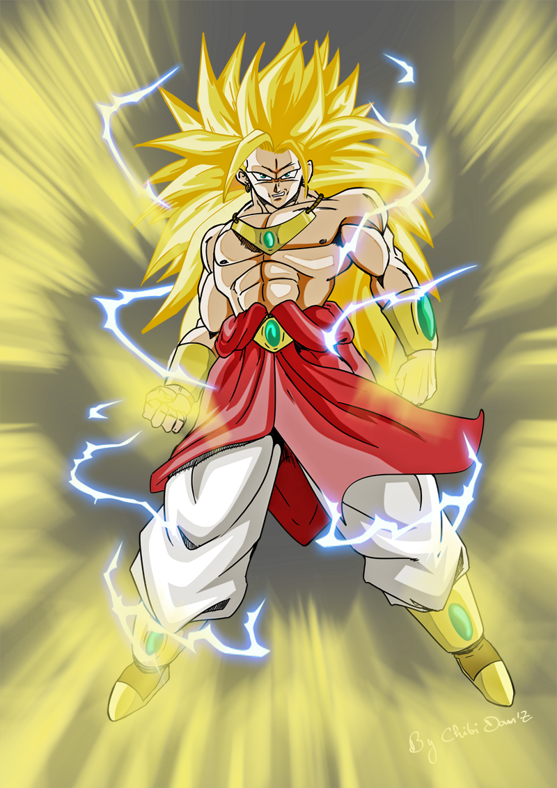 BROLY SSJ3 by ChibiDamZ on DeviantArt