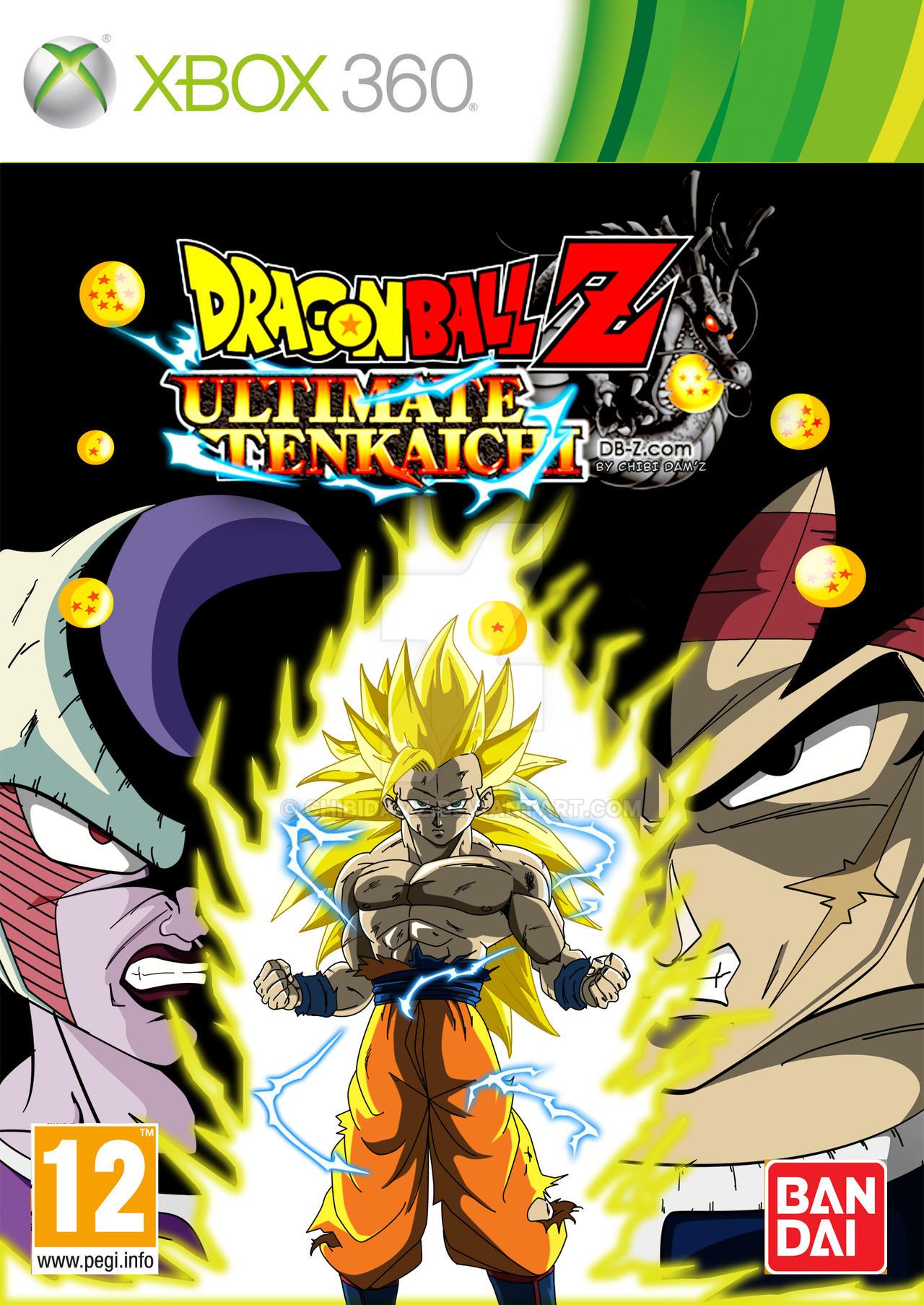 Ultimate Tenkaichi Xbox 360 By Chibidamz On Deviantart