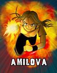 Fanart Amilova in color