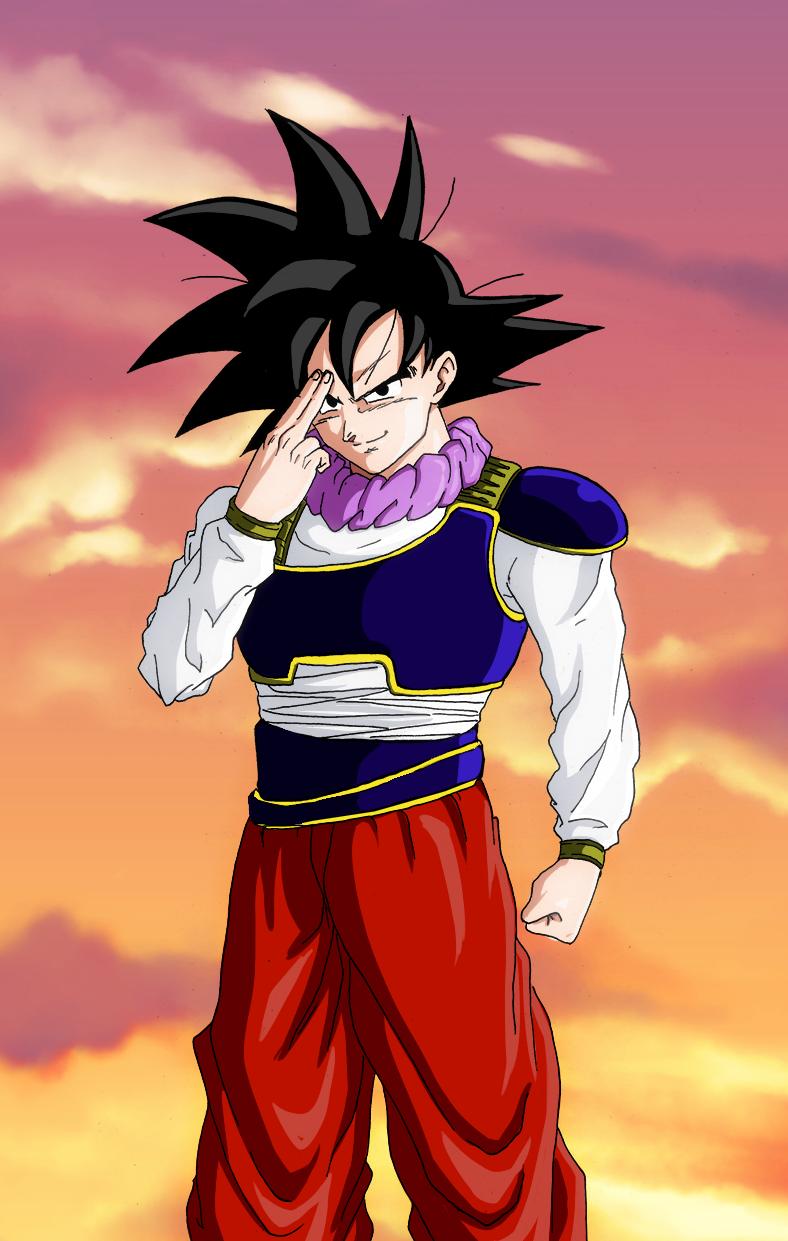 Goku yardrat shunkan ido by ChibiDamZ on DeviantArt