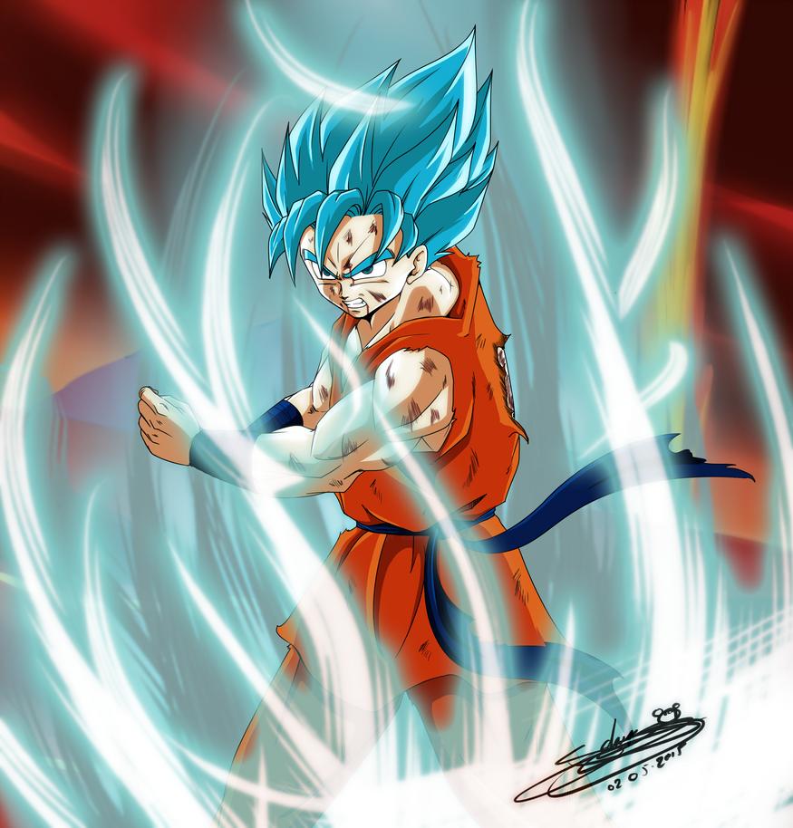 Goku Ssjgod Divin By Chibidamz On Deviantart