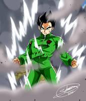 Mystic Gohan in Dragon ball Super by ChibiDamZ