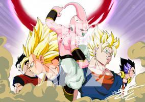9  Saga Buu by ChibiDamZ