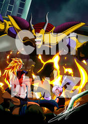 Dbz film 13 : l'attaque du dragon