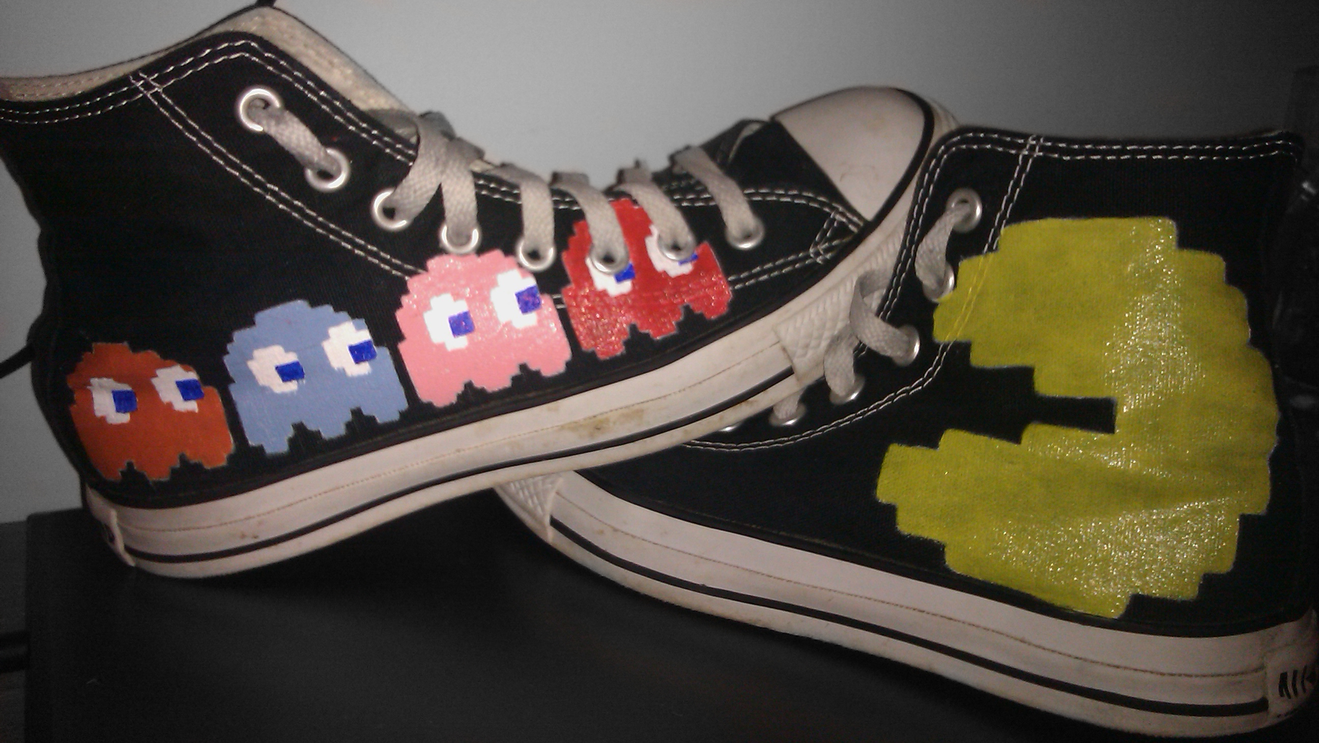Add Custom Design To Converse Shoes