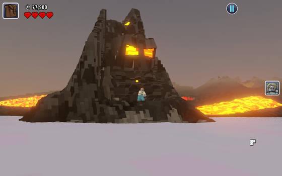 Volcanic moai