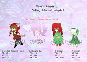 .:+*Batch*+:. Old unsold adopts ( 0/4 open)