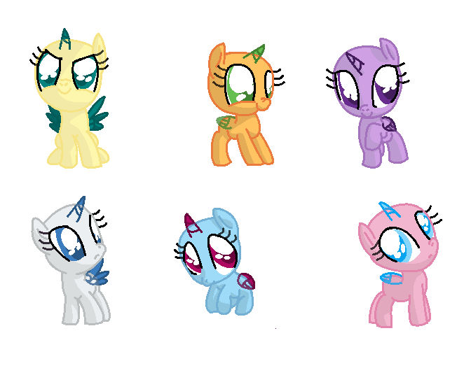 Image Result For Mane Six Coloring
