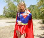 Kate Upton as Supergirl 7