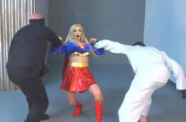 Britney Spears as Supergirl 6 by samuraichamploo07