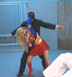 Britney Spears as Supergirl 7