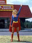 Christina AppleGate As SuperGirl 2