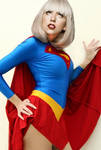 Lady Gaga as SuperGirl 2