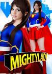 Selena Gomez as superheroine MIGHTYLADY 1