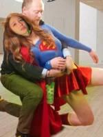 Melissa Benoist as supergirl alt costume 3 by samuraichamploo07