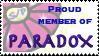 Paradox Member Stamp by gemsile
