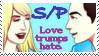Sheldon and Penny Stamp by gemsile