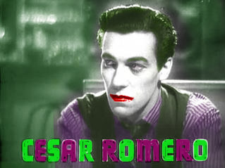 Cesar Romero as the Joker by Erasmono
