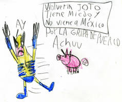 Wolverine Inner Child by Erasmono