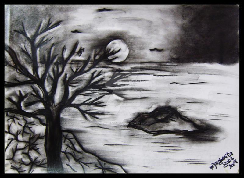dark landscape 2 by maggiebebbe on deviantart