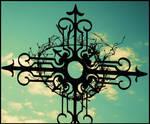 Cross and sky