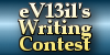 eV13il's writing contest banner by EveFarrel