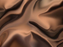 Wrinkled Brown Silk by Scaloperion