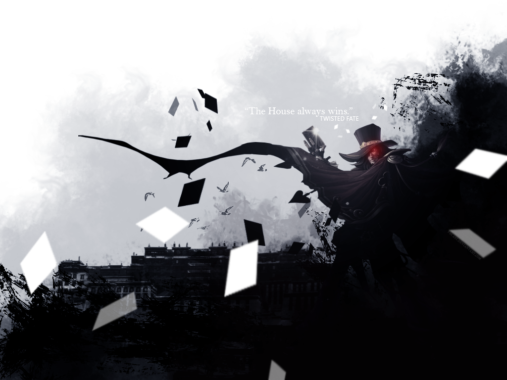 Twisted fate wallpaper by fecast on deviantart twisted fate wallpaper by fecast voltagebd Images