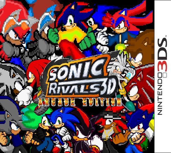 Sonic Rivals 3d Arcade Edition Box Art By Asksolothesoulhog On Deviantart