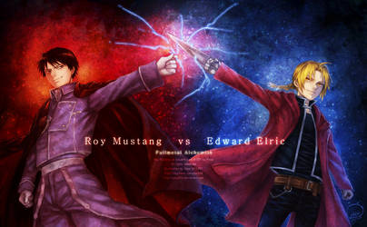 Roy Mustang vs Edward Elric by Piece5113