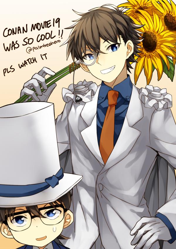Detective Conan -   Sunflowers of Inferno by palmtreehero