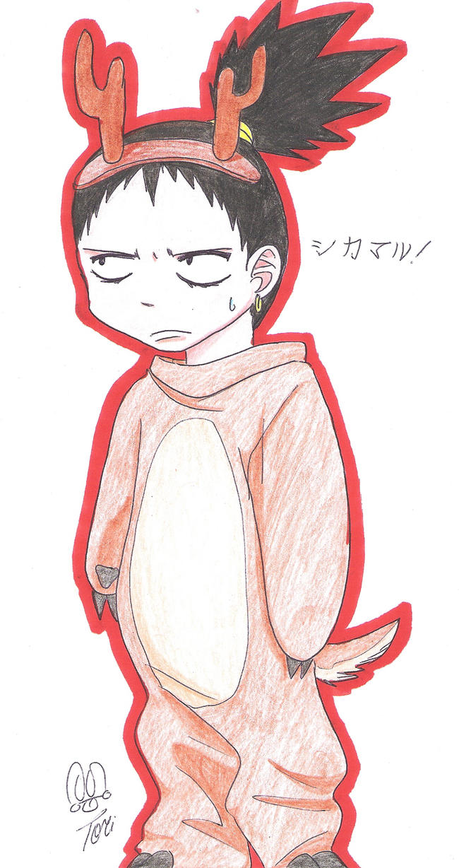 Shikamaru chibi by Kajina on DeviantArt