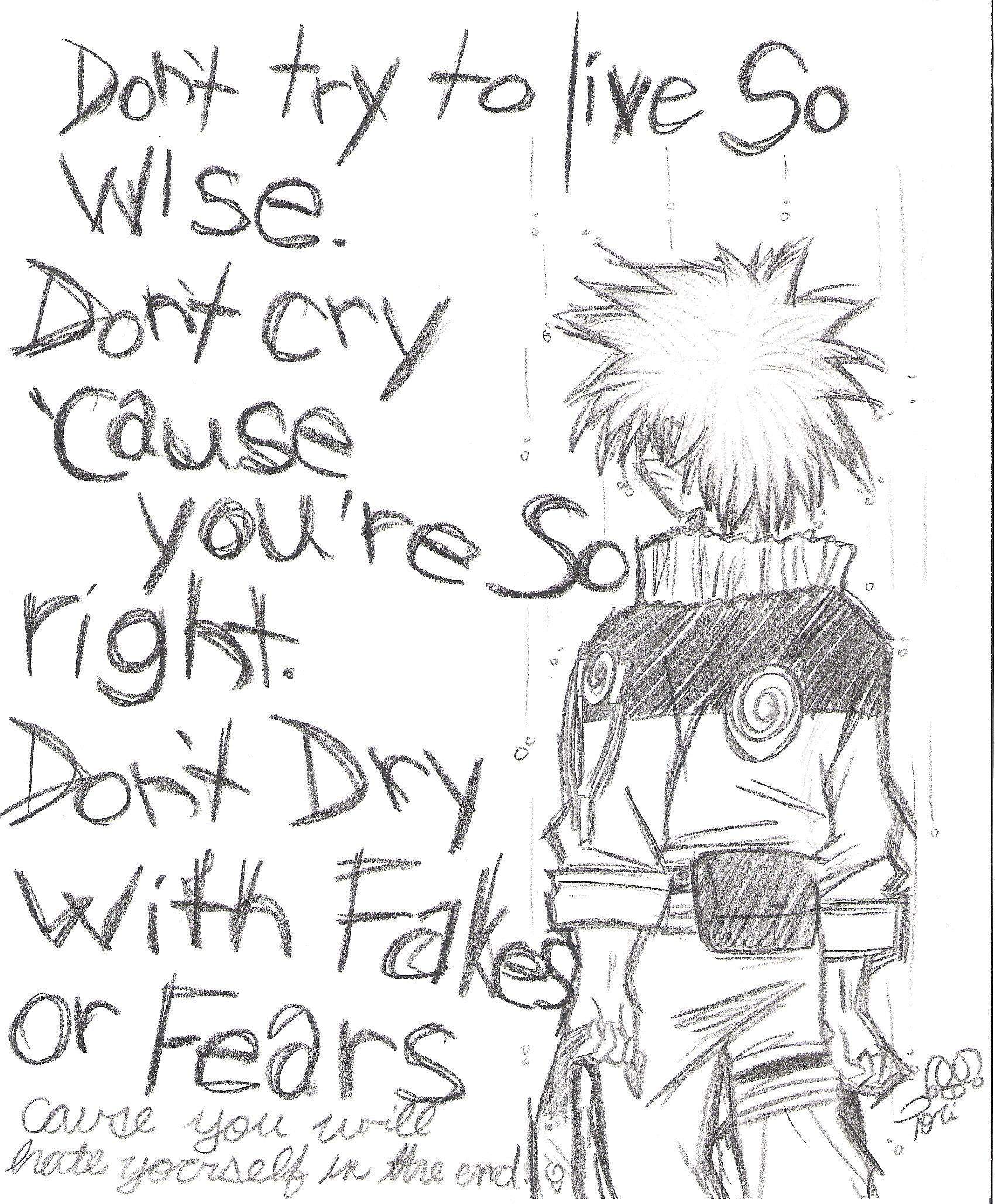 Naruto wind lyrics