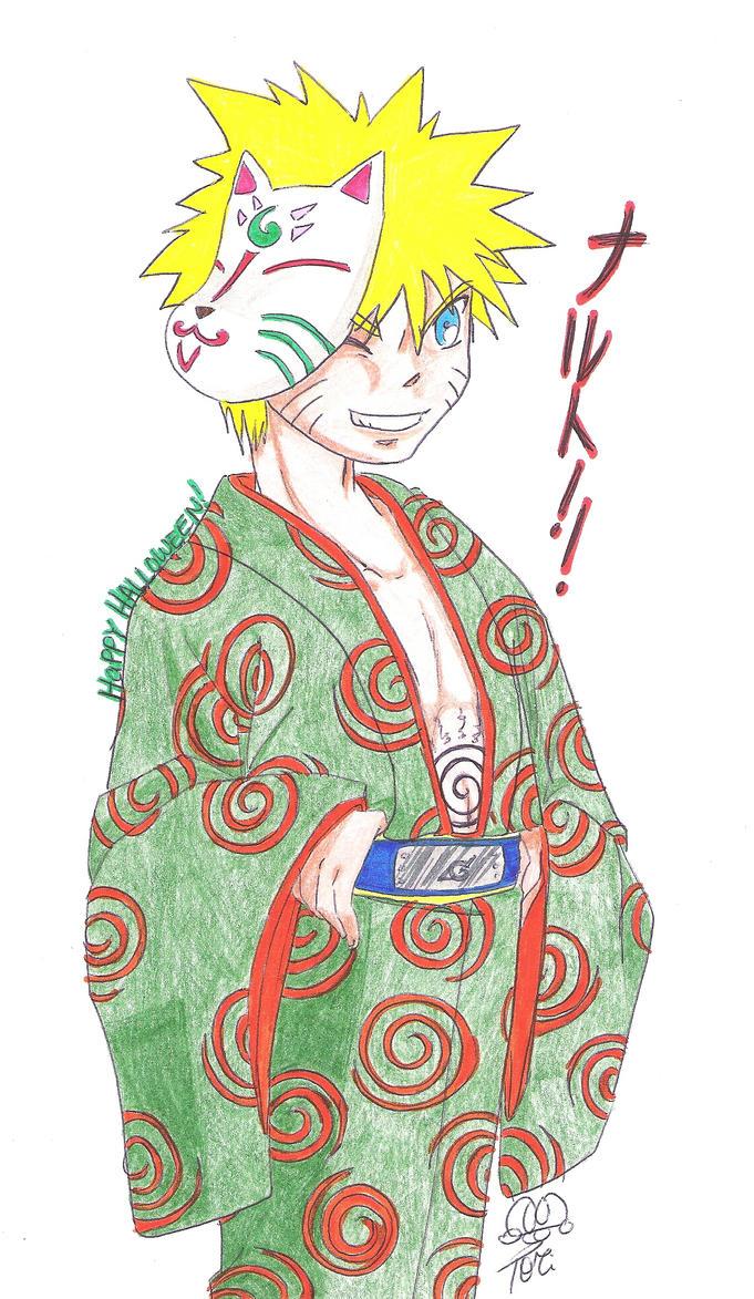 Have a Naruto Christmas -color by Kajina on DeviantArt