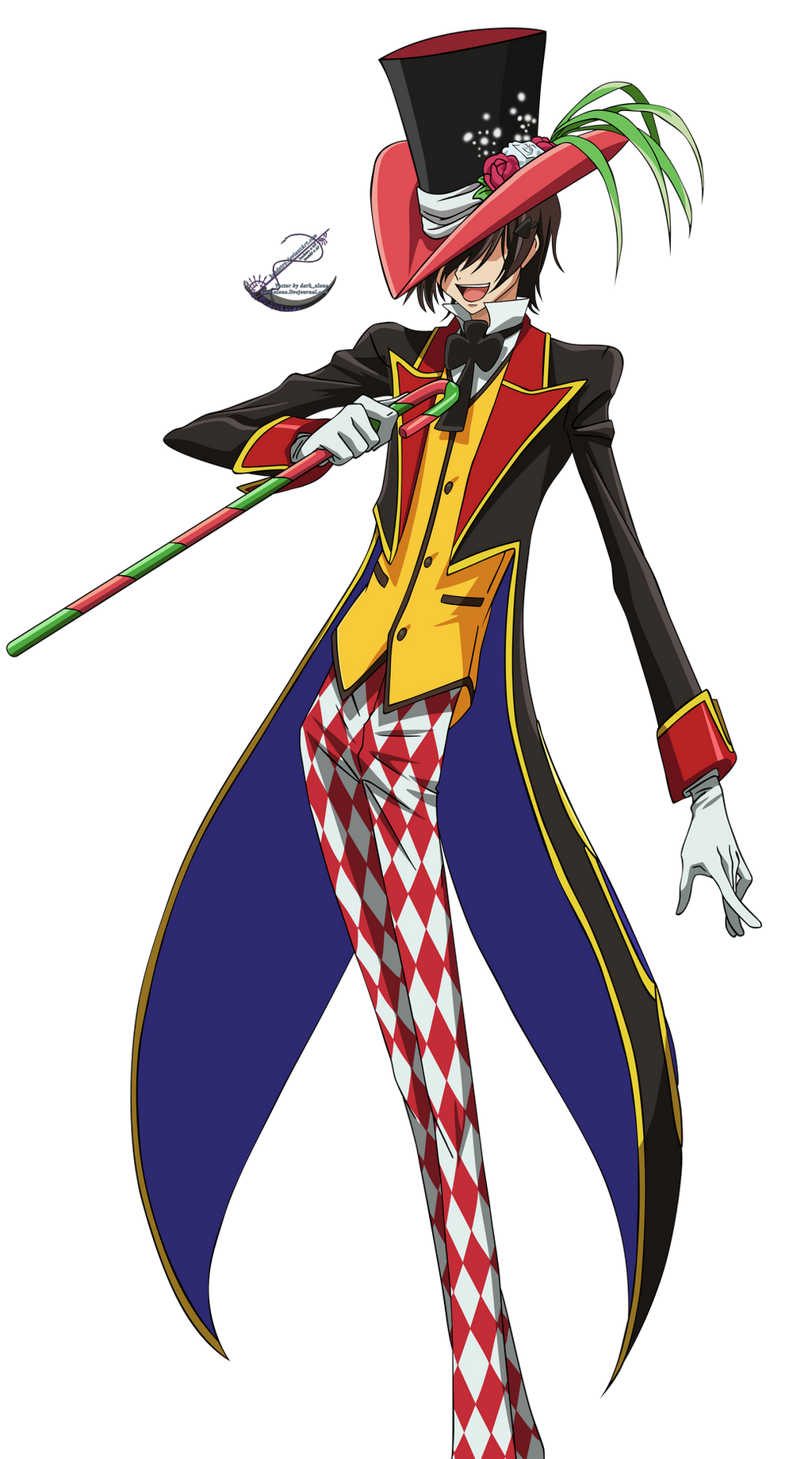 Mad Hatter Lelouch - Vector