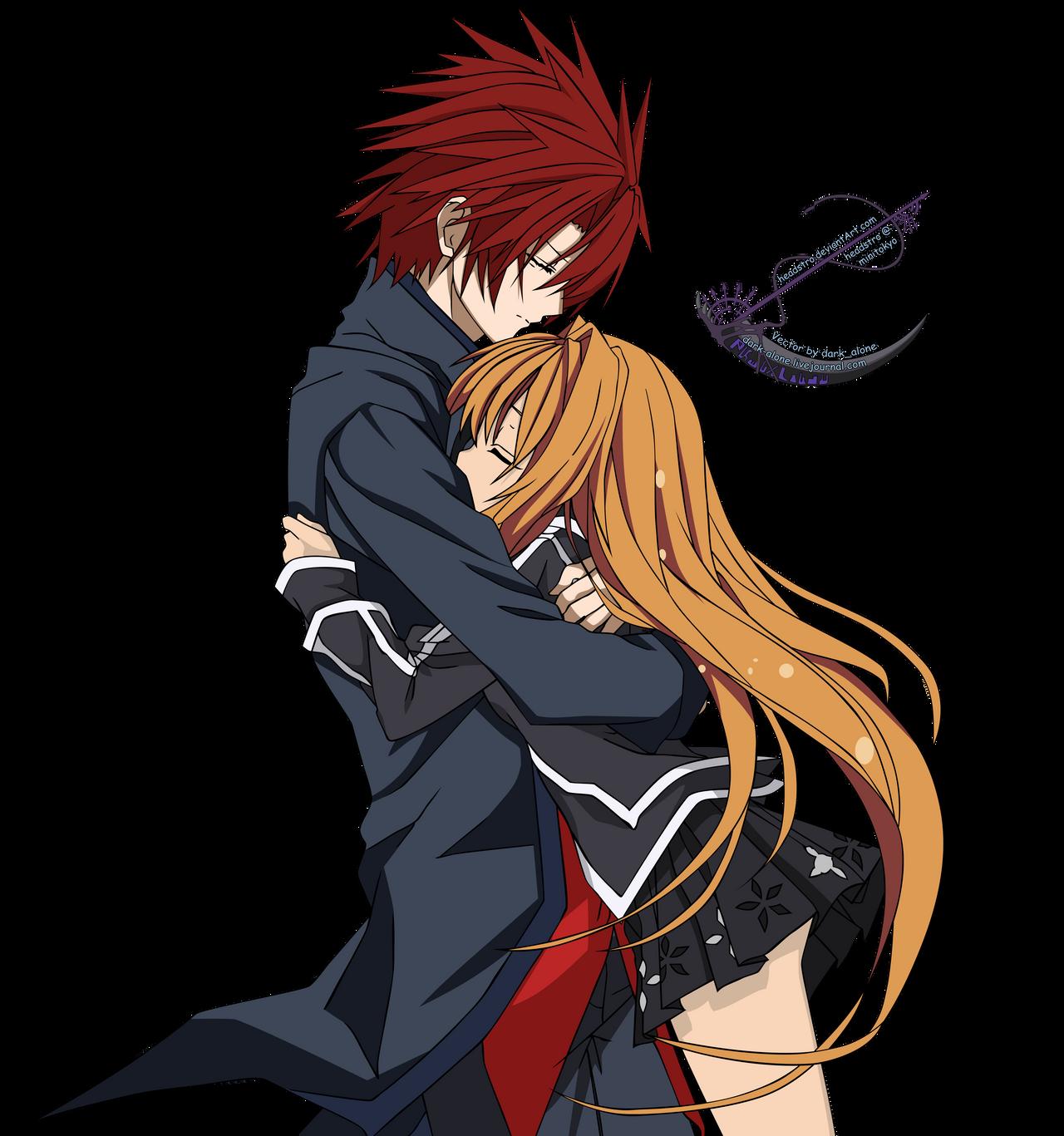 Arisu and Ai - Vector by headstro