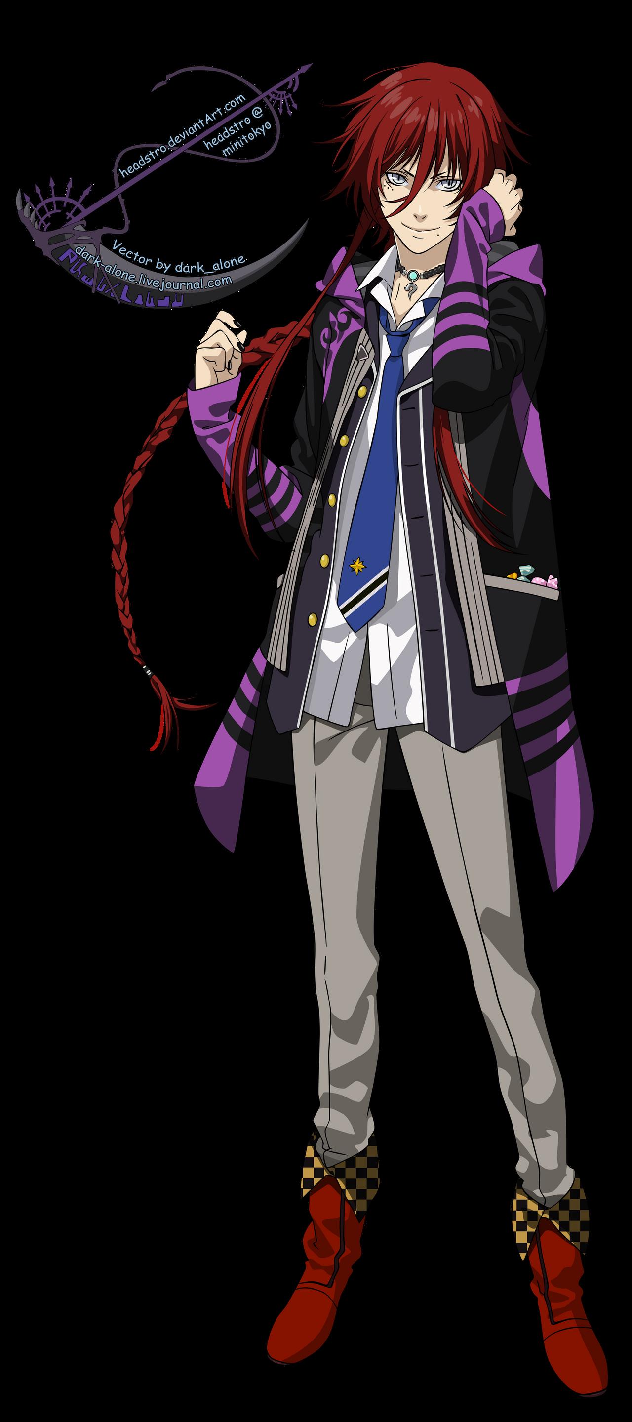 Loki Laevatein - Kamigami no Asobi - Vector by headstro on DeviantArt
