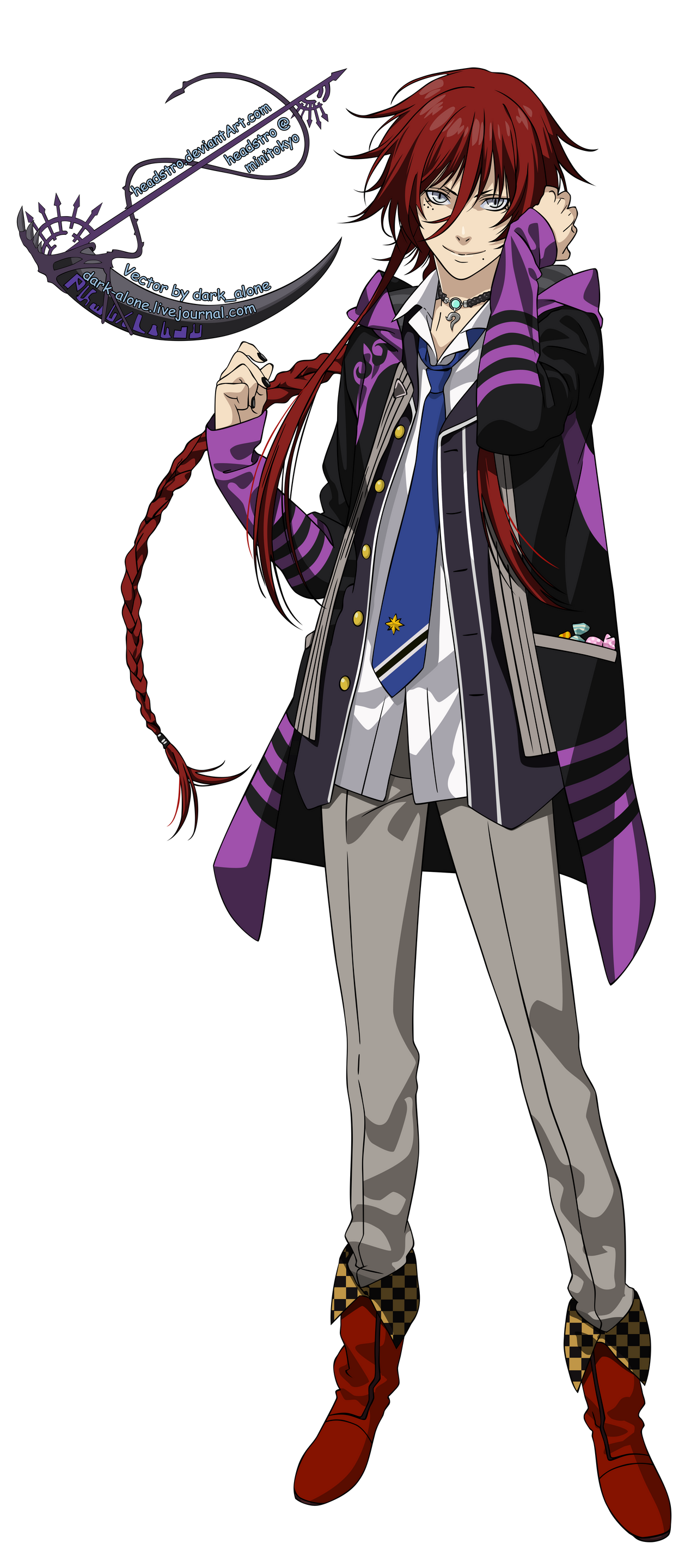 Loki Laevatein - Kamigami no Asobi - Vector
