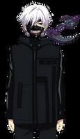Kaneki - Tokyo Ghoul - Vector -lazy ver-