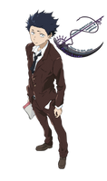 Ishida Shouya 2 - Koe no Katachi - Vector