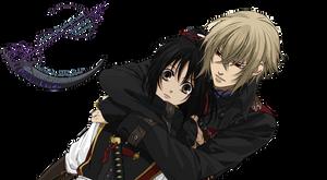 Kazama x Yukimura - Hakuouki  - Vector