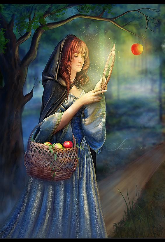 Snow White Queen by iluviar
