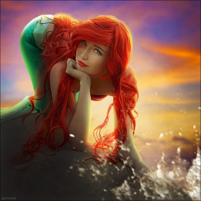 The little mermaid by iluviar