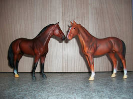 CollectA Hannover stallions