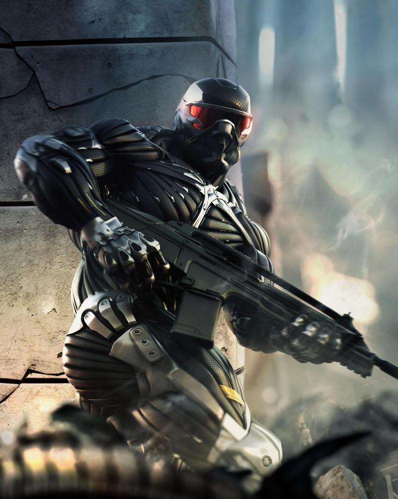 Crysis 2 Artwork by DevinedKiLLa
