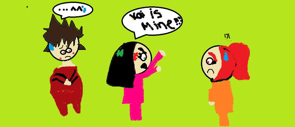 Kai is MINE!!! by JulieBnHaLover247