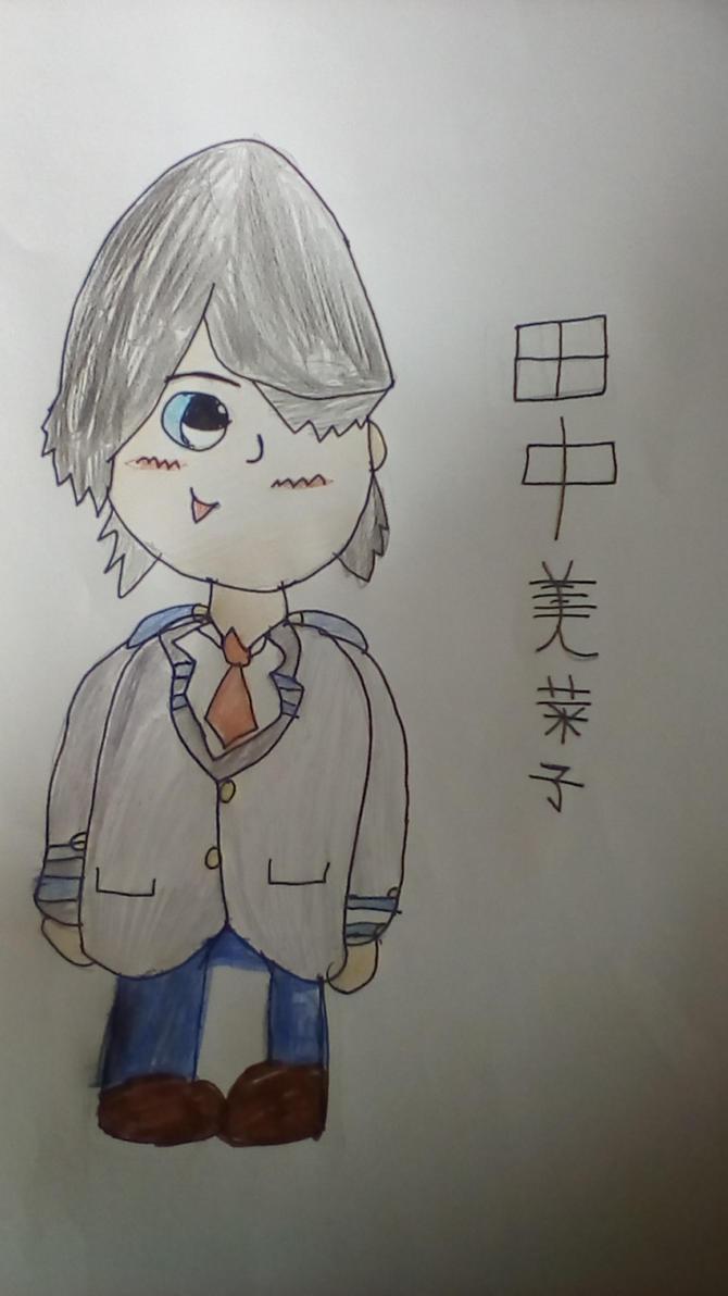 BnHA OC: Tanaka Minako by JulieBnHaLover247