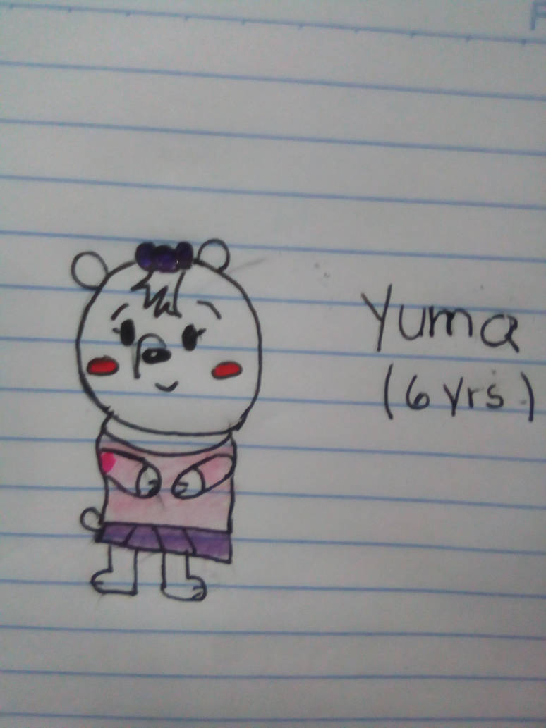 Yuma Six Years by JulieBnHaLover247