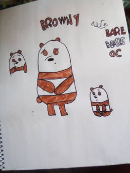 We Bare Bears OC: Browny