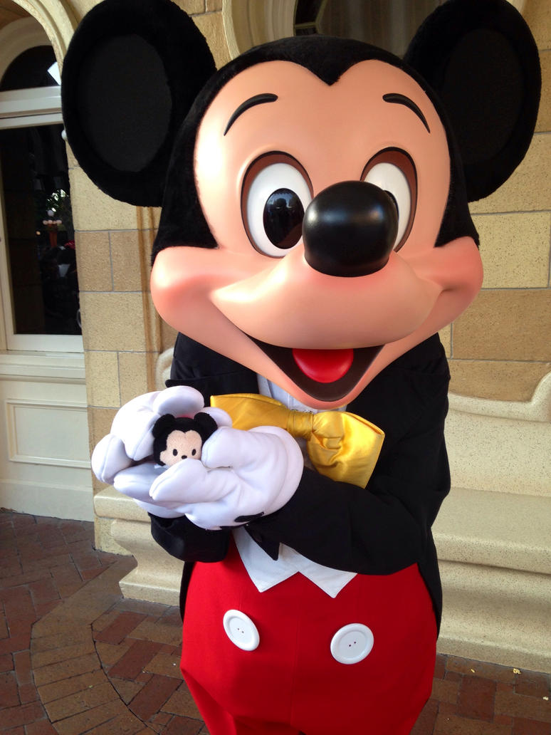 Disneyland Mickey Mouse by ShiranuiKidWolf101 on DeviantArt
